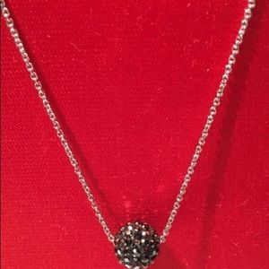Touchstone by Swarovski Pavé ball necklace